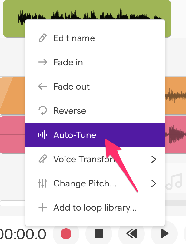 How do I add Auto-Tune® to my vocals? – Soundtrap Support